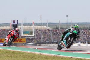 Morbidelli 'very, very happy' with MotoGP best