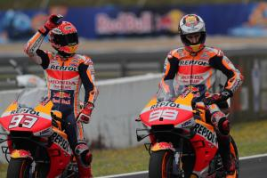 Marquez unmoved by influence of Lorenzo HRC visit