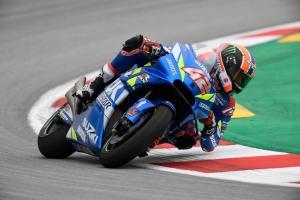 Rins, Suzuki heads up Catalunya FP3 as Lorenzo makes Q2