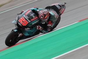 Quartararo upstages rivals to set Catalunya MotoGP practice pace