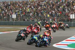 'Strange' crash from lead costs Rins victory chance