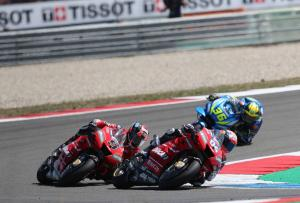 Petrucci: They don't have to do square corners like us…