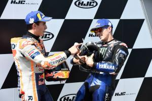 """Vinales takes """"maximum"""" second with Marquez """"impossible"""" to catch"""