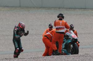 'Don't hesitate' - Quartararo's first race mistake