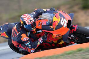 Zarco into Q2 for first time this season as KTMs progress