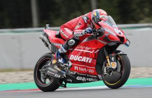 Dovizioso edges dry Brno MotoGP warm-up for Ducati