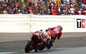 "Dovizioso ""scared"" over Marquez final-corner fight for victory"