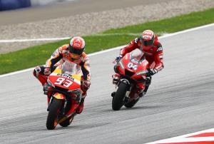 Marquez: Dovizioso was playing with me
