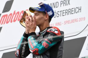 Quartararo keeps on learning with podium at toughest race