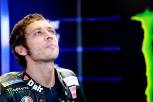 Rossi 'curious' at 'difficult test bench'