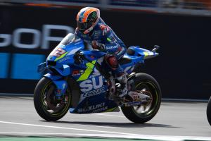 Suzuki: 'Sunday Boy' Rins needs to qualify better