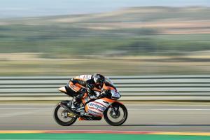 Moto3 Aragon - Warm-up Results