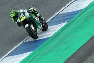 Crutchlow: 'Mad' braking means wild ride