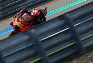 Pol: I thought of trying to catch Marquez as he landed!