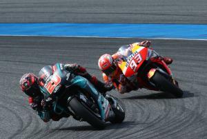 Marquez: Quartararo riding Yamaha like Lorenzo