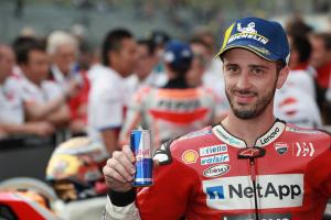 "Dovizioso ""can't relax"" despite MotoGP title fight being over"