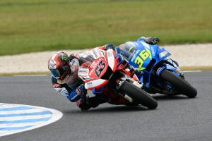 Best yet as Bagnaia, Mir on brink of podium