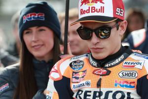 "Marquez ""not 100%"" for Sepang test"