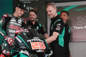 Quartararo: I'm not replacing Rossi yet