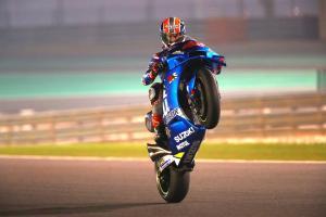 Rins 'step forward', Mir 'strong pace', Suzuki 'ready'