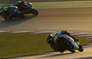 Suzuki holds on to Qatar Moto3 pole after missing final run