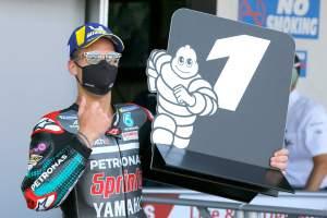 Quartararo survives 'longest ten laps' for landmark maiden MotoGP win