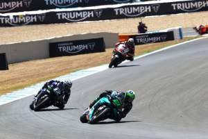Morbidelli: I was going towards the podium…