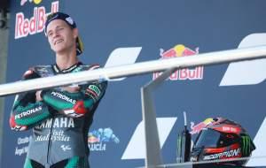 Quartararo raises MotoGP title hopes with second win in seven days