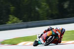 Moto3 Brno - Warm-up Results