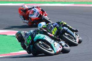 Morbidelli, Bagnaia hail Rossi impact after landmark VR46 day