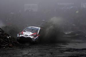 Tanak drops out from lead to hand Ogier Wales Rally GB chance