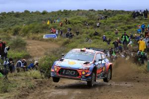 Neuville moves clear as Tanak drops out