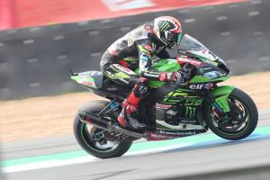 Rea tops damp FP3 at Donington Park