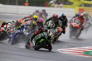 Rea: We did not really have a wet set-up...