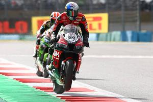 Magny-Cours WorldSBK - Superpole Race Result