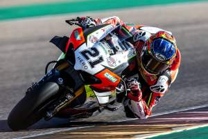 Rinaldi pips Rea by 0.001s to top Teruel WorldSBK FP1