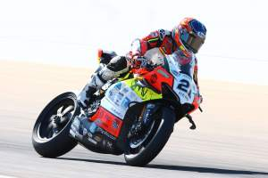 Rinaldi asserts himself to complete Teruel WorldSBK Friday sweep