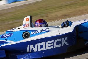 Youngsters showcase skills in Champ Car test.