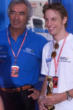 Button underwhelmed by Briatore U-turn