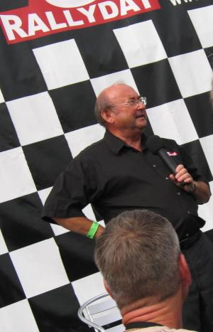 Tony Mason at Rallyday 2009