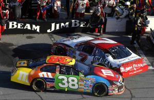 NASCAR shows no mercy to Robby.