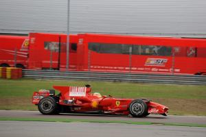 F3 racer breaks lap record on F1 debut.
