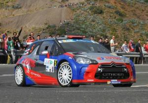 Former F1 star Kubica hailed after Gran Canaria drive