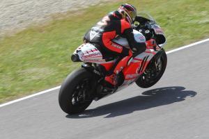 Max Biaggi completes Pramac Ducati MotoGP test