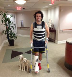 Franchitti leaves hospital