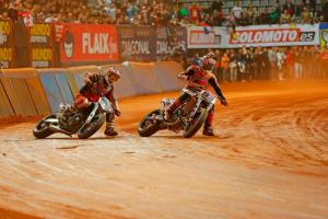 Superprestigio: Marquez vs Bayliss vs Baker...