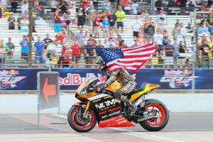 Colin Edwards bids emotional farewell to US fans