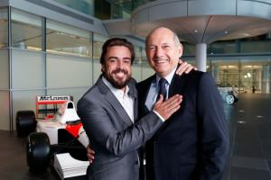 Dennis: McLaren, Honda and Alonso will dominate F1