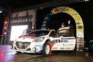 ERC: Breen storms through snow for Latvia win