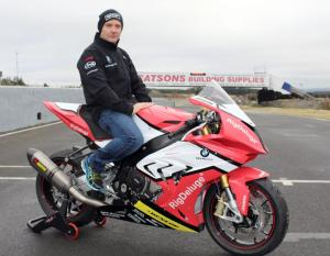 Amor in Superbike return on Rig Deluge BMW